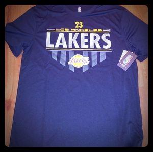 LeBron James Dri Fit Short Sleeve Jersey T Shirt